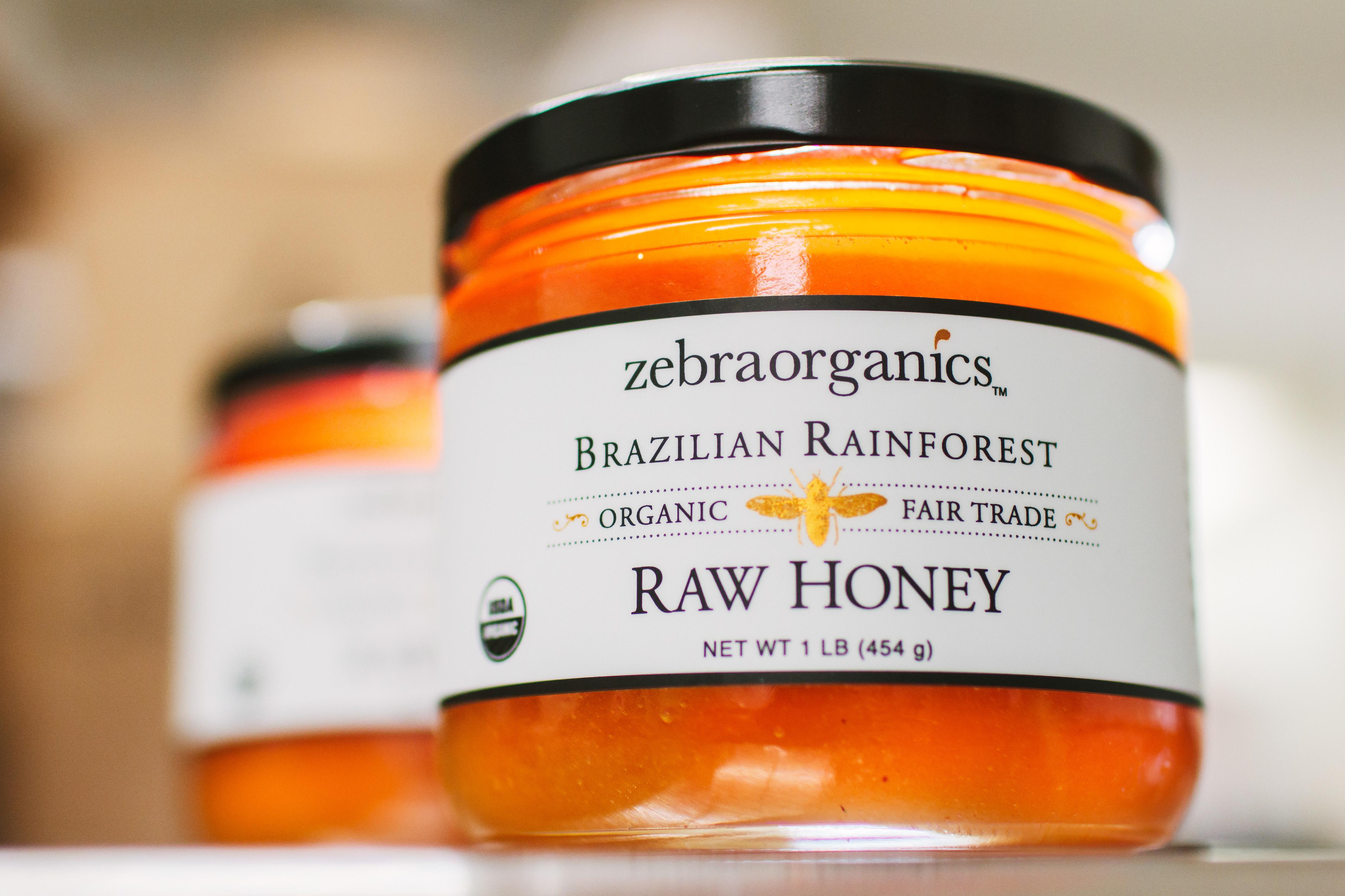 Organic Raw Brazilian Rainforest Honey
