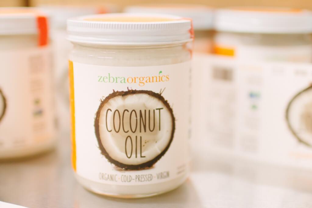Zebra Organics Coconut Oil