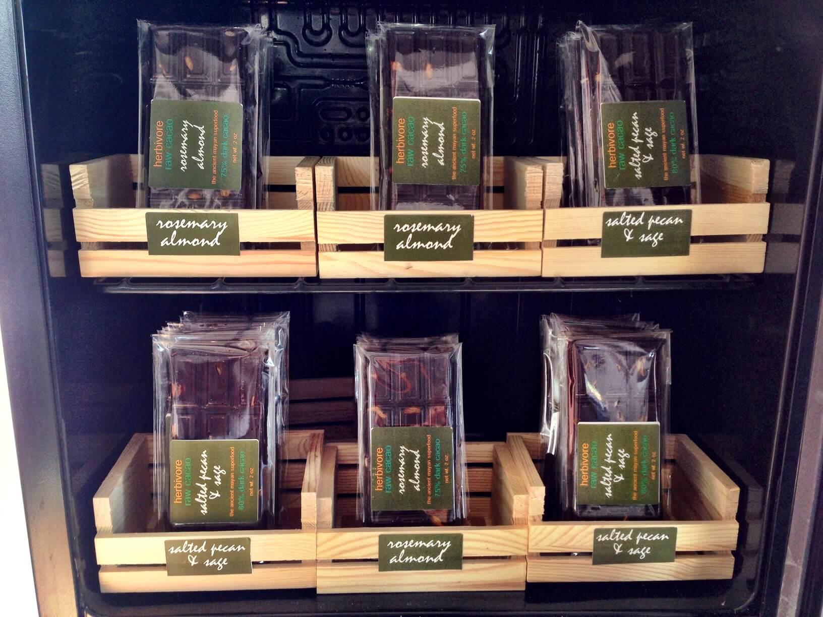 Herb infused chocolate | Zebra Organics