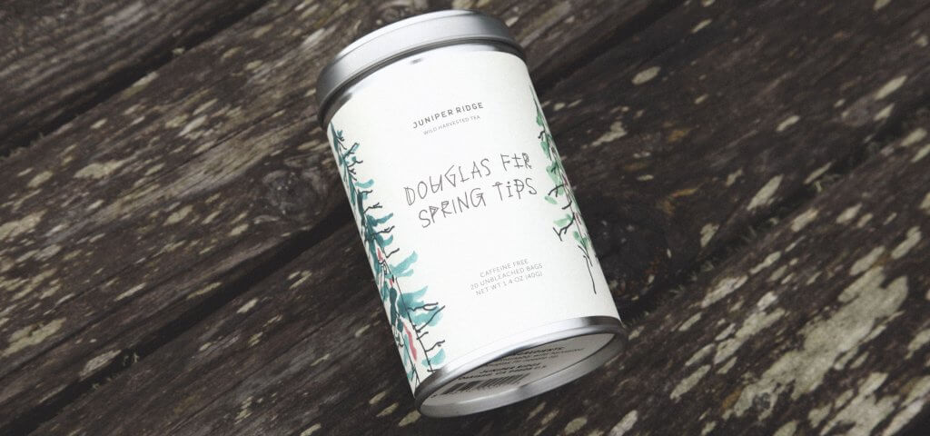 Douglas Fir Spring Tip Tea by Juniper Ridge | Zebra Organics