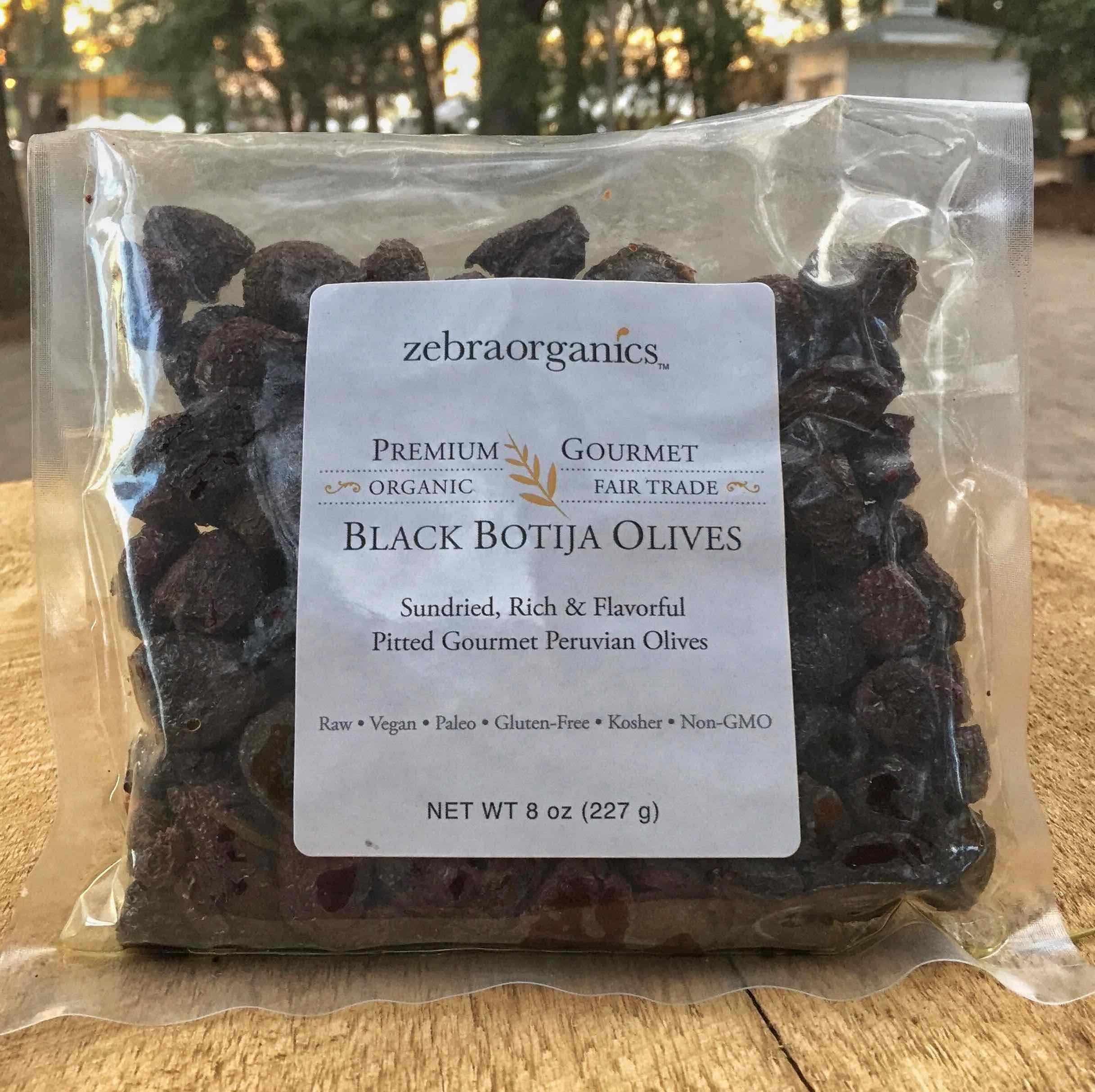 Organic Peruvian Black Botija Olives